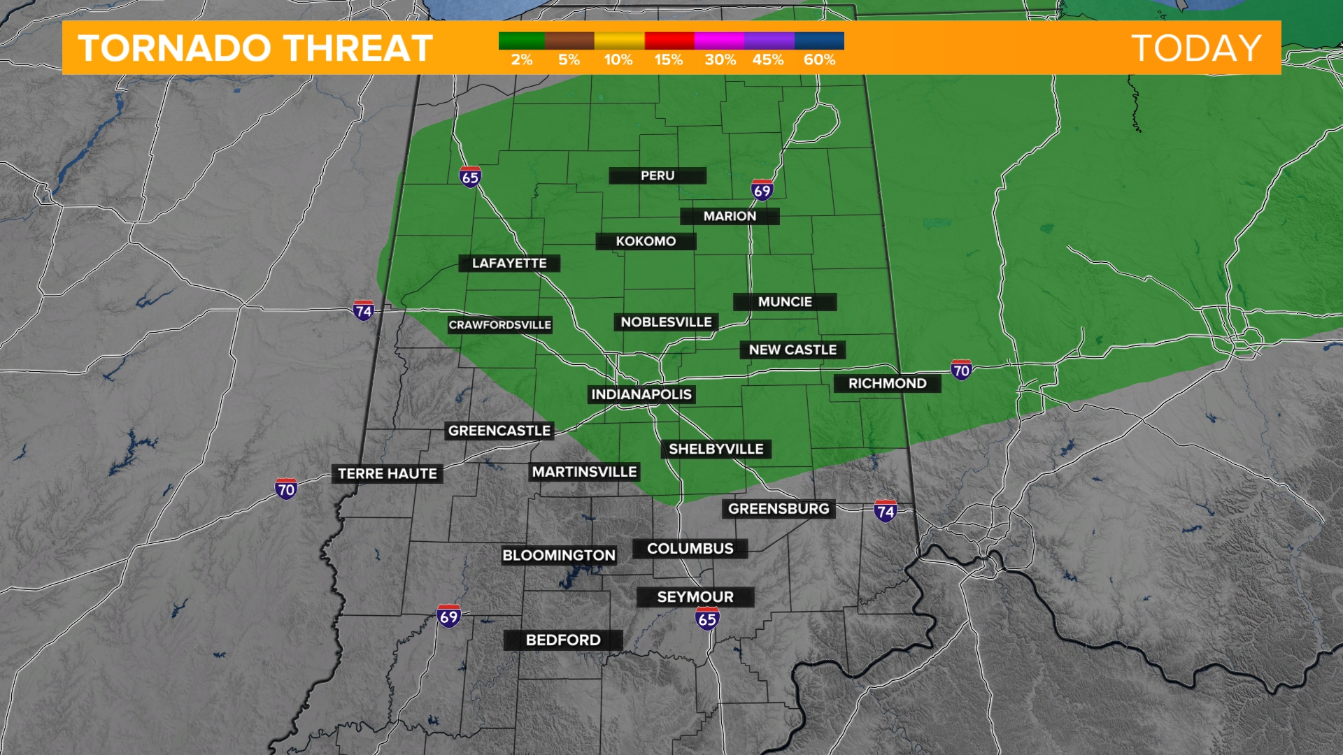 Indianapolis Storm Risk Forecast Weather 13 Wthr